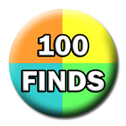 Milestone Badge - 100 Finds
