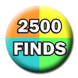 Milestone Badge - 250 Finds
