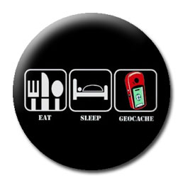 Eat, Sleep, Geocache